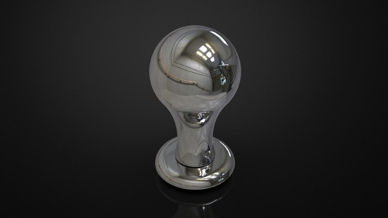 SOLID BRASS MORTICE KNOB INSPIRED #095
