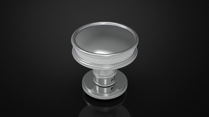 SOLID BRASS MORTICE KNOB INSPIRED #101
