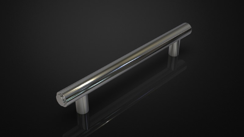 SOLID BRASS PULL HANDLE INSPIRED #110
