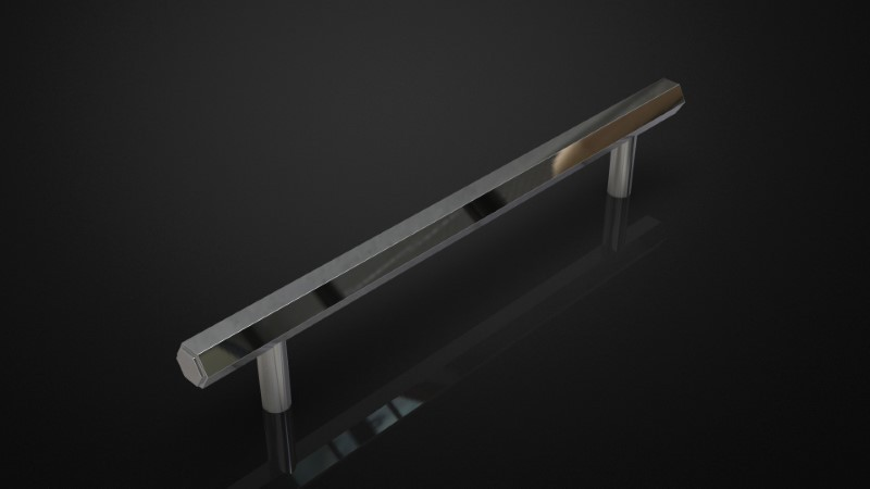 SOLID BRASS PULL HANDLE INSPIRED #109